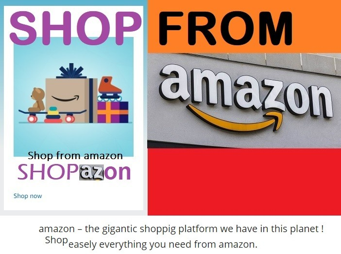 shop from amazon